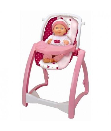 PRINCESS CORALIE - Chaise haute 4 en 1