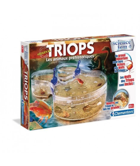CLEMENTONI Science & Jeu - Les Triops - Jeu scientifique
