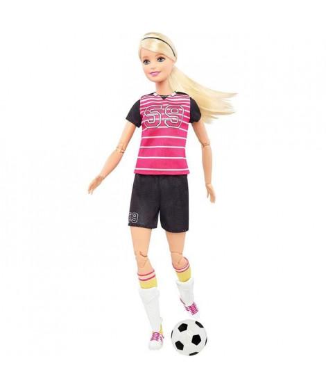 BARBIE - Barbie Footballeuse Articulée - Poupée Mannequin