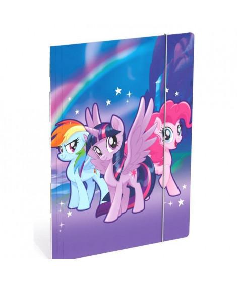 MY LITTLE PONY SD Chemise a élastique A4 en carton - Rainbow