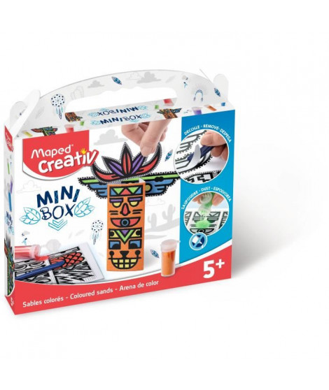 MAPED CREATIV - Mini Box - Sables Colorés a construire