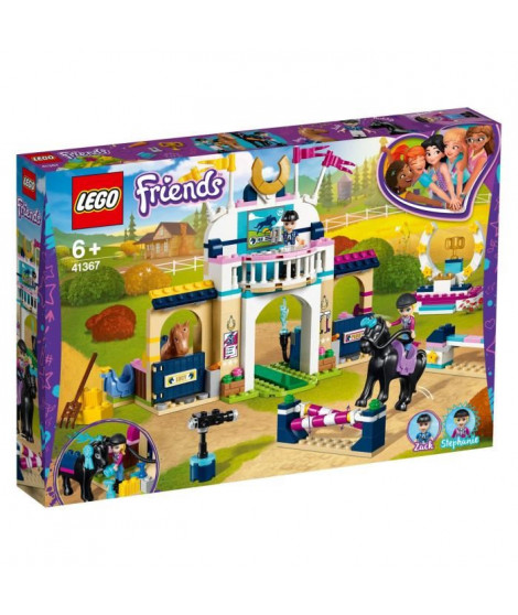 LEGO Friends 41367 Le parcours d'obstacles de Stéphanie
