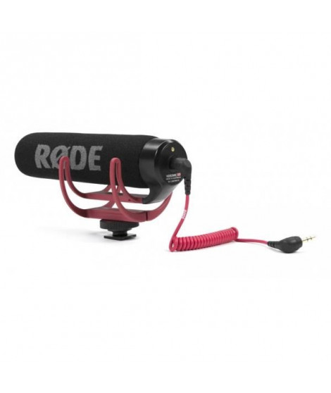 RODE Microphone compact VideoMic GO - Pour caméra et appareil photo numérique