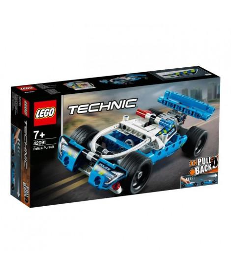 LEGO Technic 42091 La voiture de police