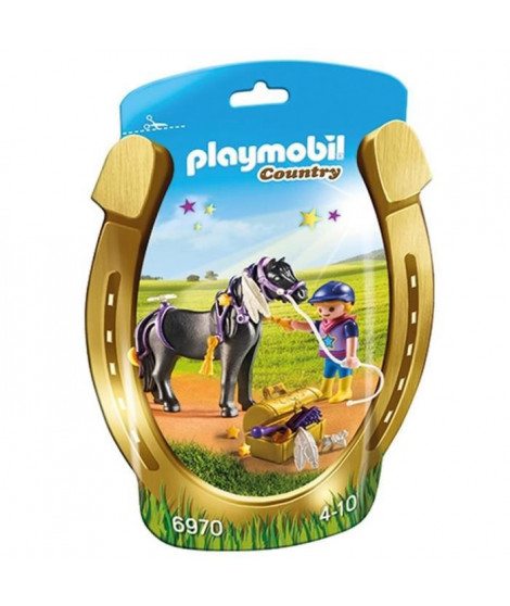 PLAYMOBIL 6970 - Country - Poney a Décorer 'Etoile'