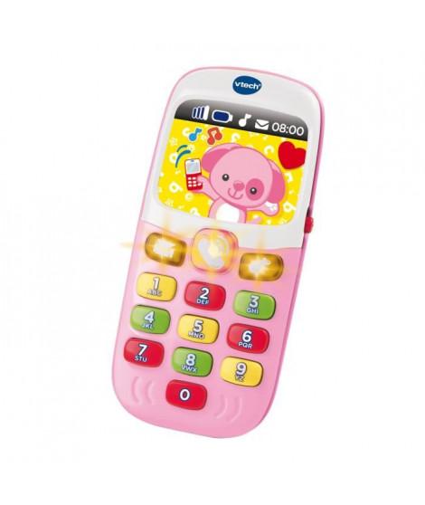 VTECH BABY - Baby Smartphone Bilingue Rose - Jouet Bébé