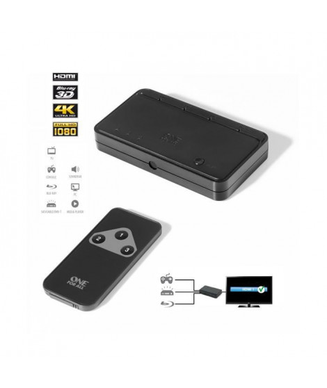 ONE FOR ALL SV1630 Switch HDMI automatique
