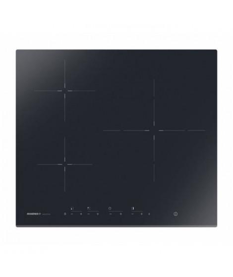 ROSIERES RID733BV Table de cuisson induction - 3 zones - 7200W - L59 x P52 cm - Revetement verre vitrocéramique - Noir
