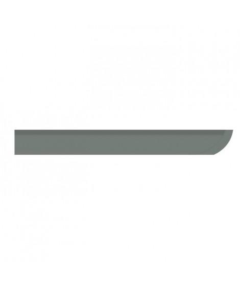 D-C-FLOOR Baguettes de finition d'angle clipsables - Polypropylene - Gris anthracite