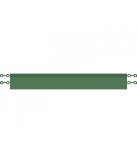 D-C-FLOOR Baguettes de finition droites clipsables - Polypropylene - Vert