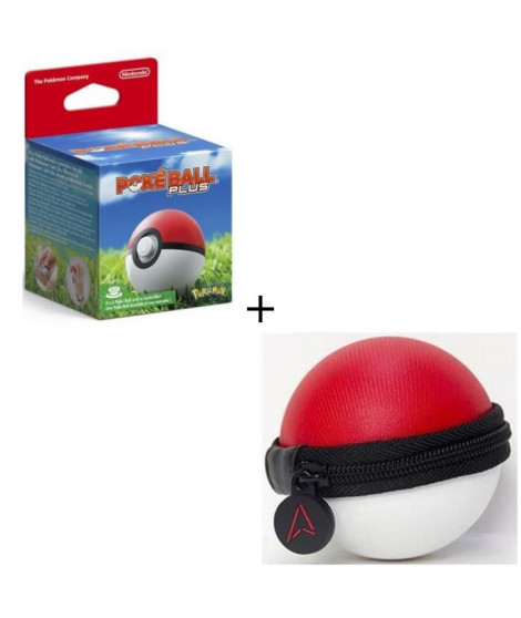 PokeBall Plus pour Pokemon Go + Housse de protection pour Pokeball - Switch