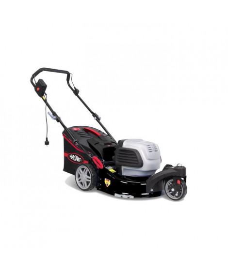 RACING Tondeuse électrique RAC151FWEL - 1500 W - 40 cm - 45 L - 3 roues - Moteur induction