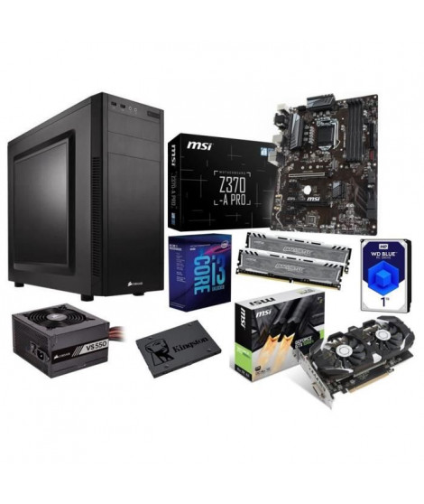 PC en kit ? i3 8100 ? GTX 1050 Ti ? 8 Go
