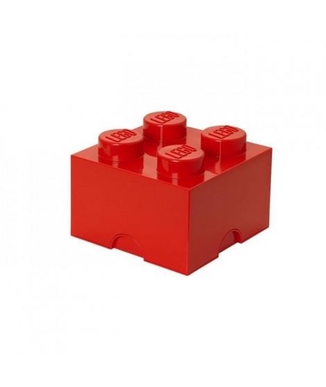 LEGO Brique de rangement - 40031730 - Empilable - Rouge