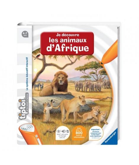 TIPTOI Livre Interactif Découverte des Animaux d'Afrique