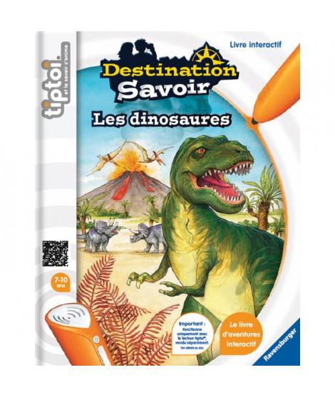 TIPTOI Livre Interactif Destination Savoir Dinosaures