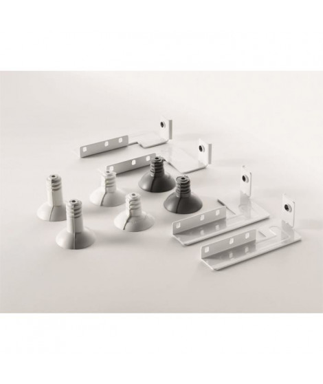ELECTROLUX 916890058-Kit d'équerres pour superposition lave-linge et seche-linge-pour produits de L 60cm