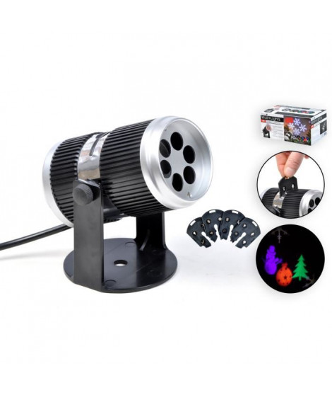 Projecteur intérieur LED - Taille : Ø 6,5 cm / L 12,5 cm