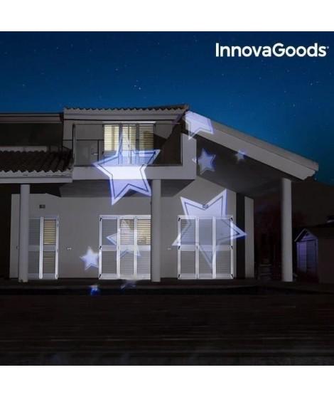 INNOVAGOODS Projecteur décoratif 7 ambiances LED - Pour extérieur/intérieur