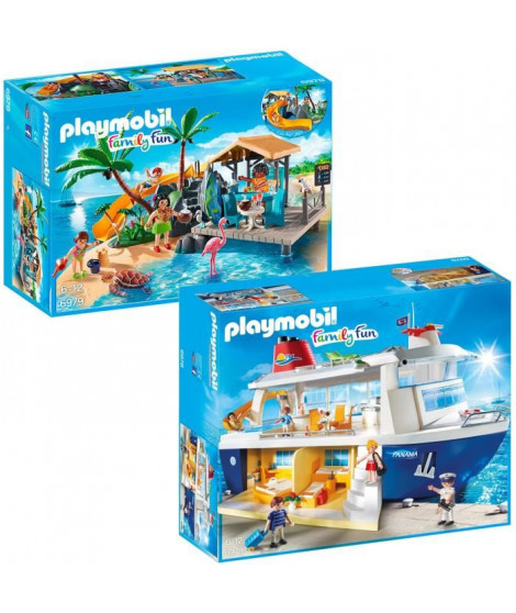 Playmobil Pack Family Fun Croisiere