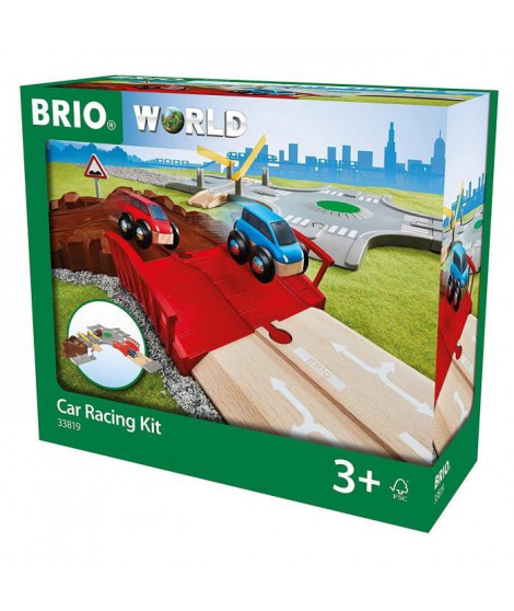BRIO World - 33819 - Circuit Course de Voitures