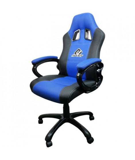 Siege e-sport bleu Subsonic  - Fauteuil gamer avec assise ergonomique - Chaise de bureau et de jeu pivotante