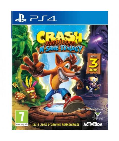 Crash Bandicoot N-SANE Trilogy Jeu PS4