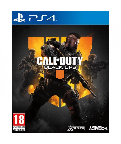 Call of Duty Black OPS 4 Jeu PS4