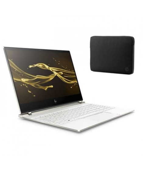"HP PC Spectre- HP13af000nf - 13.3"" FHD tactile - RAM 8Go - Windows 10-Core i5-8250U- Intel UHD- Sto+housse"