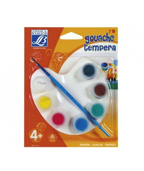 LEFRANC & BOURGEOIS Palette petit peintre - Gouache liquide - 7x4ml