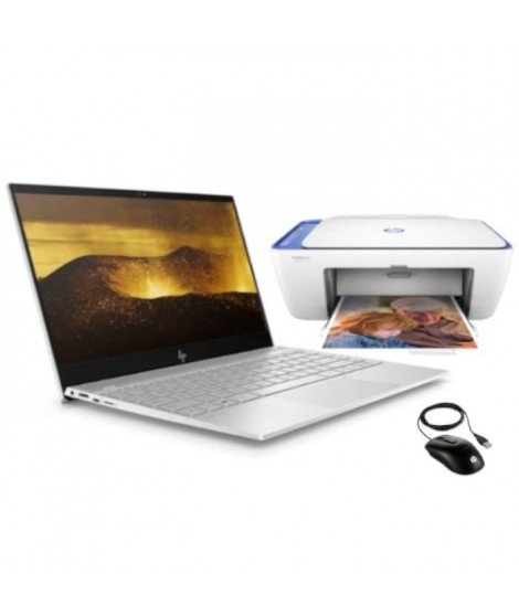 "HP PC Portable Envy 13-ah0000nf - 13,3""FHD - i5-825OU - 8Go de Ram + 256Go SSD - W10 + Imprimante + Souris"