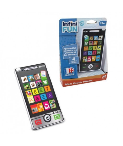 TALDEC Infini Fun - Smartphone Educatif Bilingue