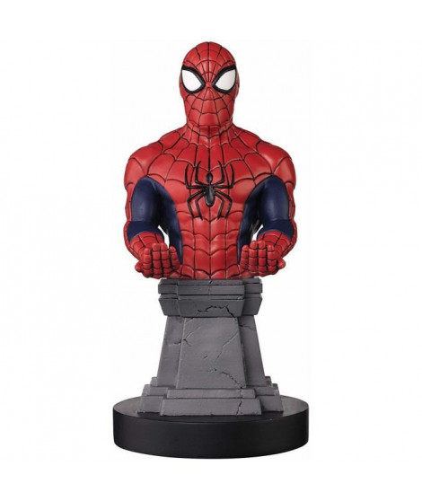 Figurine support et recharge manette Cable Guy Spiderman