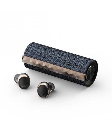 T3-GRH Padmate écouteurs sans Fil PaMu Scroll - Bluetooth 5.0 - Etanche IPX6 -  Tactile - 3h30 d'autonomie - (Gris/Noir)