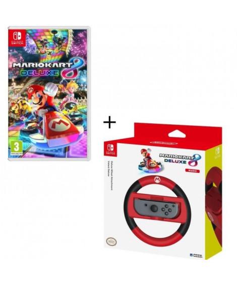 Mario Kart 8 Deluxe + Volant HORI