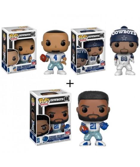 Pack de 3 Pop! NFL : Cowboys