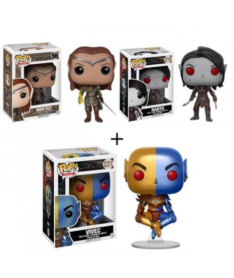 Pack de 3 Pop! The Elder Scrolls