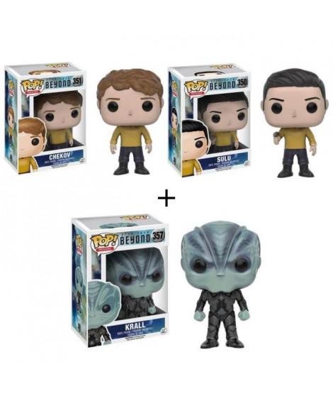 Pack de 3 Pop! Star Trek Beyond