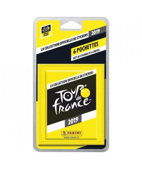 TOUR DE France 2019 Blister 6 pochettes