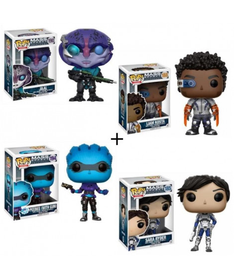 Pack de 4 Pop! Mass Effect Andromeda
