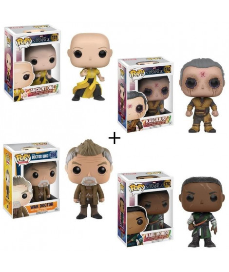 Pack de 4 Pop! Doctor Strange