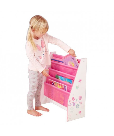 Bibliotheque Enfant Rose Fille HelloHome - Worlds Apart