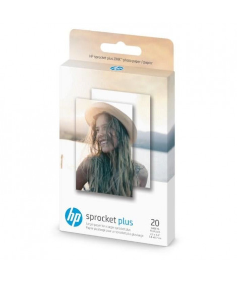 HP Sprocket Plus ZINK Photo Paper 5,8 x 8,7 cm 20 Sheet