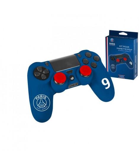 Kit pour manette PS4 Subsonic bleu PSG n°9 Cavani