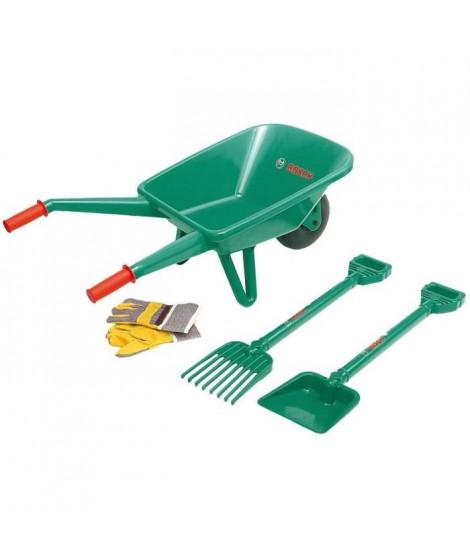 BOSCH - Set de jardin avec brouette pour Enfant
