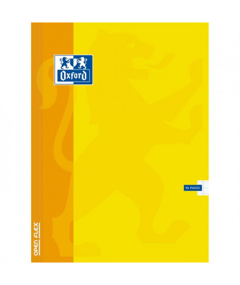 OXFORD   Cahier Openflex agrafé - 24 x 32 cm - 96 pages - Seyes