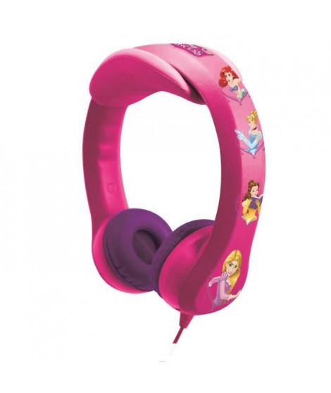 LEXIBOOK - DISNEY PRINCESSES - Casque Audio Enfant - Flexible et Incassable