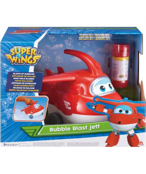 SUPER WINGS Avion Jet a bulles