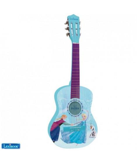 LEXIBOOK - LA REINE DES NEIGES - Guitare Acoustique Enfant - Hauteur 78cm -