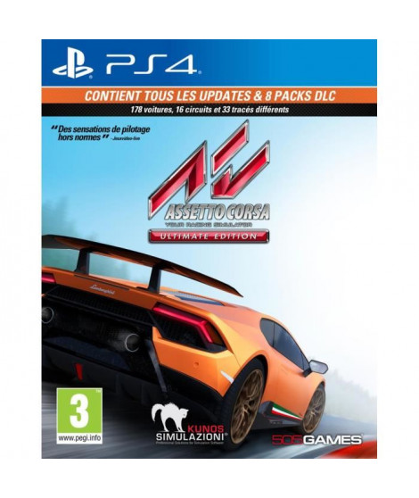 Assetto Corsa: Ultimate Edition Jeu PS4